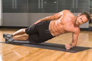 side plank, fitness