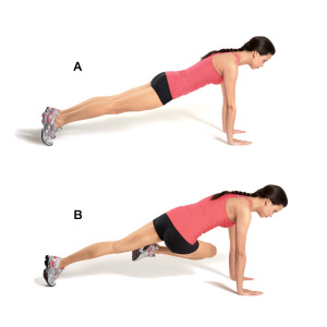 mountain climber exercise, warmup exercises, butt exercises that work