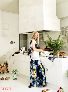 Gwyneth Paltrow, Vogue magazine, how to lose baby weight