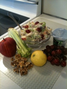 The Eat Clean Diet, clean recipies, the Eat Clean Diet  Light Waldorf Salad