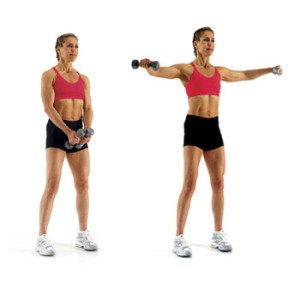 lateral raises, how to do lateral raises, shoulder exercises