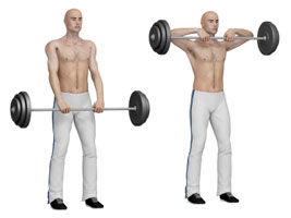 upright rows, shoulder workouts